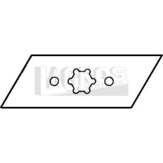 Vertikutiermesser für Brill-Gardena 35/40