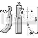 Fräsmesser 197x60 RS für Eurosystems