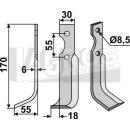 Fräsmesser 170x55 LS für BCS