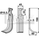 Bogenmesser 190x80  RS für Goldoni