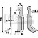 Fräsmesser 193x55 LS für BCS