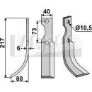 Fräsmesser 217x80 LS für Ferrari 34