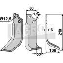 Fräsmesser 210x108x22 RS für Goldoni 20136