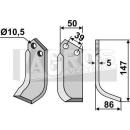 Bogenmesser 147x86 RS für Goldoni