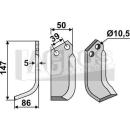 Bogenmesser 147x86 LS für Goldoni