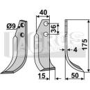 Fräsmesser 175x50 RS für Tielbürger