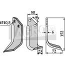 Bogenmesser 152x72 RS für Grillo 7635