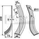 Fräsmesser 230x73 LS für Honda 501