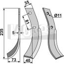 Fräsmesser 235x73 LS für Honda 510-560