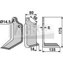 Winkelmesser 175x135 RS für Maschio 02108430