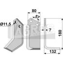 Winkelmesser 180x132x11,5 RS für Howard 624401