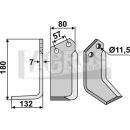Winkelmesser 180x132x11,5 LS für Howard 624400