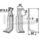 Fräsmesser 185x80 RS für Goldoni 14191
