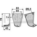Spatenmesser 78x45 LS für Gutbrod 073.71.063