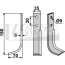 Bogenmesser 180x70 LS für Goldoni 2065