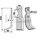 Fräsmesser 245x80 LS für Bertoloni S.310/S-12522/3