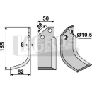 Fräsmesser 155x82 LS für Bertolini S.315-13014/5