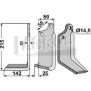 Winkelmesser 215x142 LS für Maschio 01110429