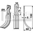 Hackmesser 190x60 RS für Hako 142-10