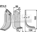 Bogenmesser 195x134 RS für Celli 422514