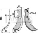 Fräsmesser 272x85 LS für Adriatica Ferrari