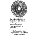 Schneekette Leiter Profi 18x8.50-8