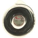 """Flexline """"Twister"""" 2.4mm x 70 m schwarz oval"""