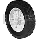 Kunststoff Rad 150 mm D. 12,7 mm Bohrung